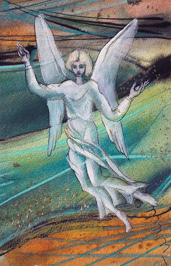 Eņģelis pār zemi laižas
