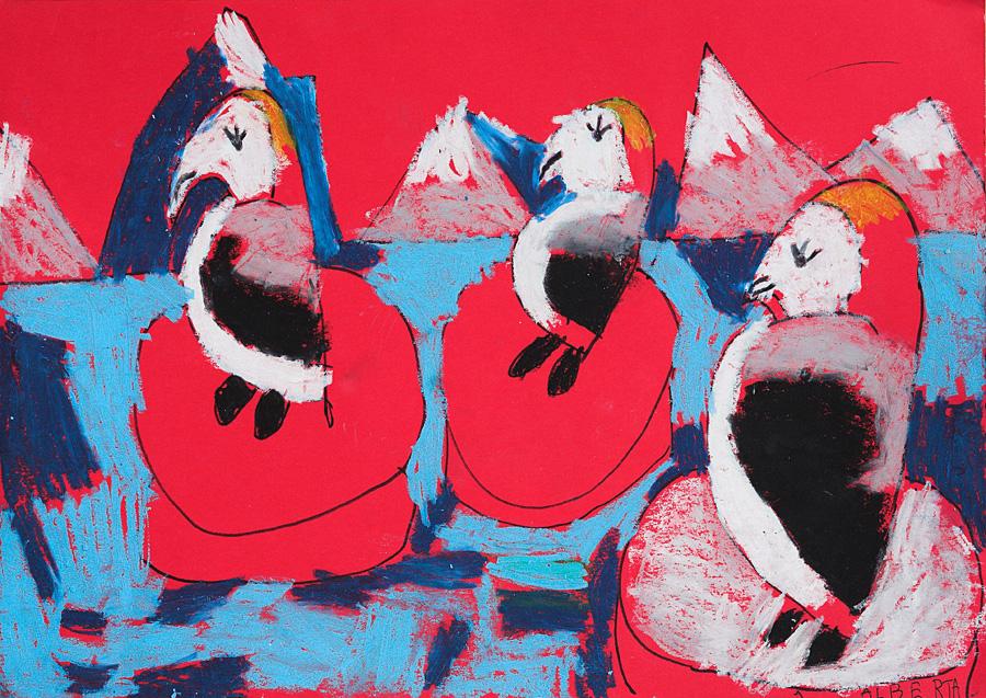 Pingvīni Antarktīdā